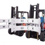 គ្រឿងបន្លាស់រថយន្ដប្រភេទ Forklift ឯកសារភ្ជាប់ដែកថែបវិលវិល។