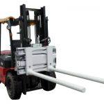ការផ្លាស់ប្តូរបារចំហៀងនៃការផ្លាស់ប្តូរដៃជាមួយនឹងឡានដឹកទំនិញ Forklift ។